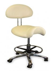 Židle 2225 se sedlovým sedákem