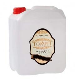 TOMFIT masážní olej - skořice - 5l