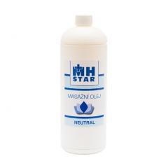 MH Star masážní olej neutral - 1l