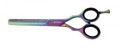 Lexwo kadeřnické efilační nůžky 5,5