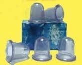 Pneumatická silikonová baňka